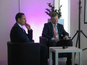 WSSE Invest-Park. Debata, Usługi outsourcingowe w Polsce. Maciej Szermach, Tomasz Jakacki